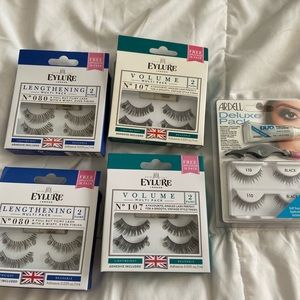 Eyelure eyelash bundle 5 packages